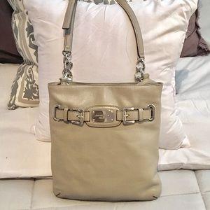 Michael Kors Hamilton Leather Crossbody Bag